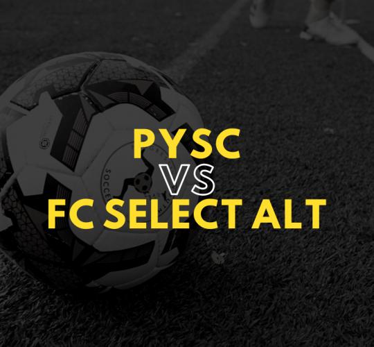 PYSC vs FC Select ALT